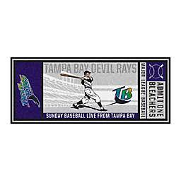 MLB Tampa Bay Rays 1998 Devil Rays Retro Ticket 2'6 x 6' Runner