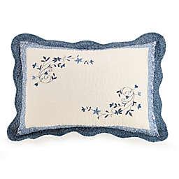 Charlotte Pillow Sham in Blue