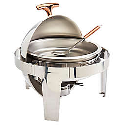 Celebrations by Denmark 6.3 qt. Stainless Steel Round Chafing Dish