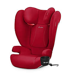 CYBEX Solution B-Fix Booster Seat in Dynamic Red