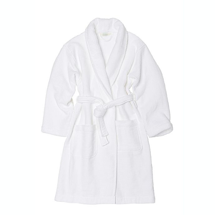 Alternate image 1 for Haven™ Waffle Organic Cotton Robe