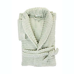 Haven™ Wave Organic Cotton Large/X-Large Robe in Sky Grey