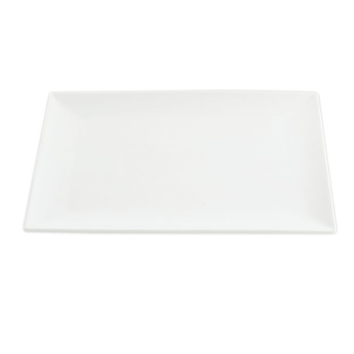 Alternate image 1 for Our Table™ Simply White 13-Inch Rectangular Serving Platter