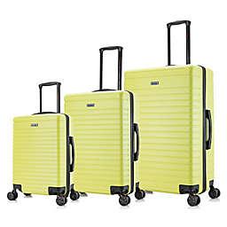 InUSA Luggage Deep 3-Piece Hardside Spinner Luggage Set