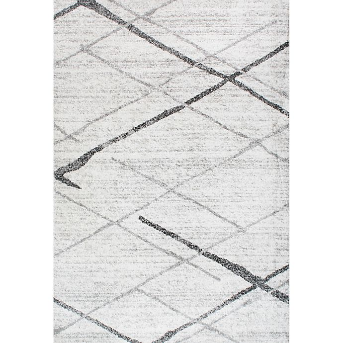 Alternate image 1 for nuLOOM Smoky Thigpen 3-Foot  x 5-Foot Area Rug in Grey