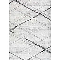 nuLOOM Smoky Thigpen 4-Foot  x 6-Foot Area Rug in Grey