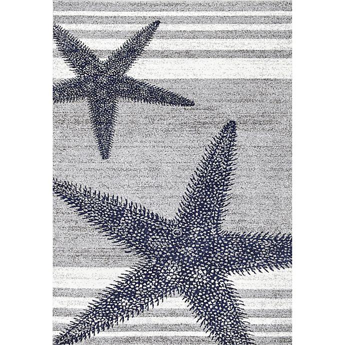 Alternate image 1 for nuLOOM Thomas Paul Starfish Rug in Grey