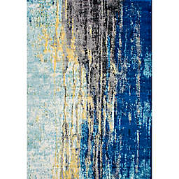 nuLOOM Katharina 4-Foot x 6-Foot Area Rug in Blue