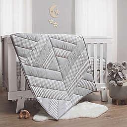 The Peanutshell™ Cameron 3-Piece Crib Bedding Set in Grey/White