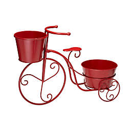 Glitzhome® Metal Tricycle Plant Stand