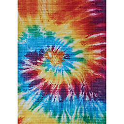Couristan Rainbow Dancing Bears Area Rug in Multicolor