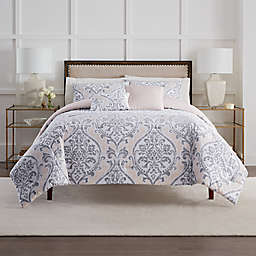 Eliza Comforter Sets in Taupe/Grey