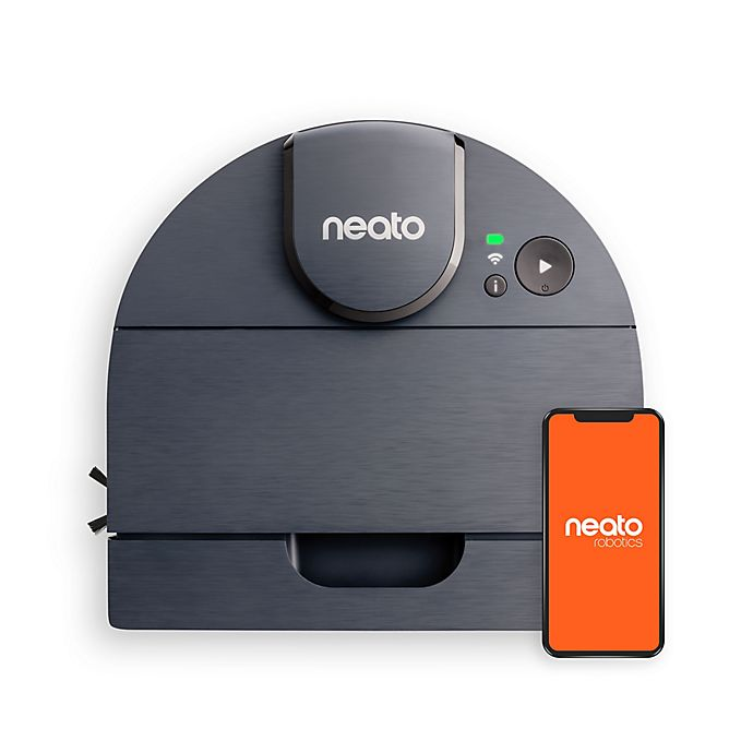 Alternate image 1 for Neato® D8 Intelligent Robot Vacuum Wi-Fi Connected with LIDAR Navigation in Indigo