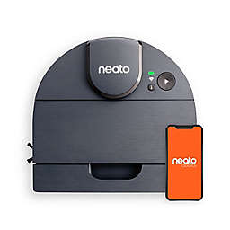 Neato® D8 Intelligent Robot Vacuum Wi-Fi Connected with LIDAR Navigation in Indigo