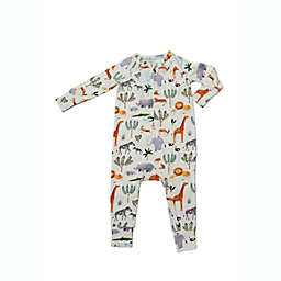 Loulou Lollipop® Size 6-12M Sleeper in Tencel™ in Safari Jungle