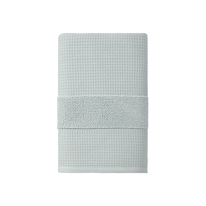 Alternate image 1 for Haven™ Organic Cotton Waffle & Terry Bath Towel