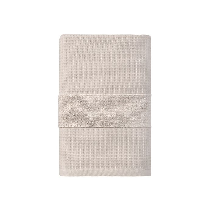 Alternate image 1 for Haven™ Organic Cotton Waffle & Terry Bath Towel Collection