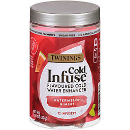 Twinings® Cold Infuse™ Watermelon, Mint, & Strawberry Cold Water Enhancers 12-Count