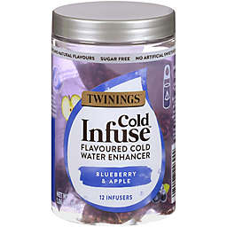 Twinings® Cold Infuse™ Blueberry, Apple, & Blackcurrant Cold Water Enhancers 12-Count