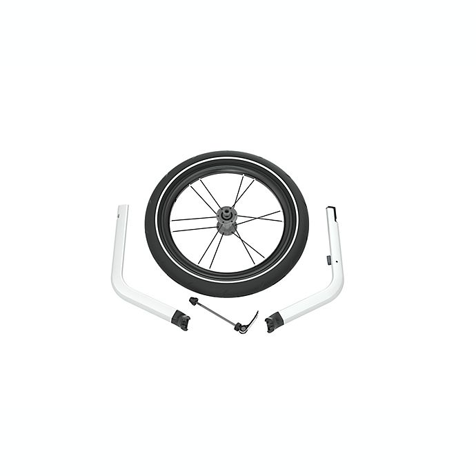 Alternate image 1 for Thule® Chariot Lite/Cross Jog Kit 1 in Black/Silver