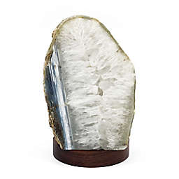 Wild Sage™ LED Agate Crystal Gemstone Table Lamp in Natural