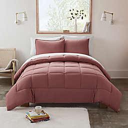 UGG® Devon 3-Piece Reversible Full/Queen Comforter Set in Sepia