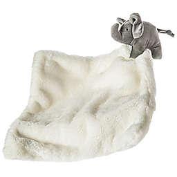 Mary Meyer Afrique Elephant Huggy Blanket in White
