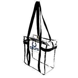 NFL Indianapolis Colts Clear Tote Along Bag