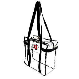 University of Utah Clear Tote Along Bag