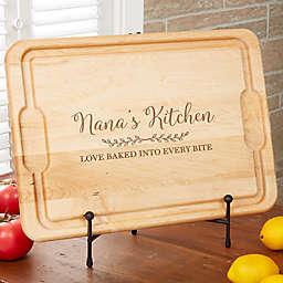 Recipe for a Special Grandma 21-Inch XL Maple Cutting Board