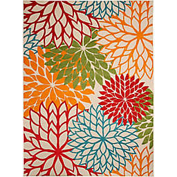 Nourison™ Aloha Floral Burst Indoor/Outdoor Rug