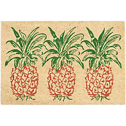 Nourison Waverly Greetings Pineapple Door Mat