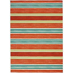 Waverly® Sun & Shade Striped Indoor/Outdoor Area Rug