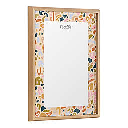 Kate & Laurel™ Blake Terrazo Notes 18-Inch x 24-Inch Glass Dry Erase Board