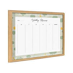 Kate & Laurel™ Blake Clouds18-Inch x 24-Inch Glass Weekly Planner