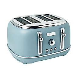 Haden Highclere 4-Slice Toaster in Pool Blue