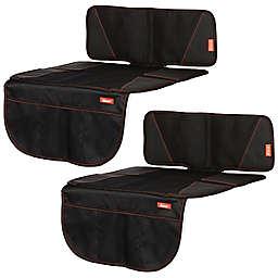 Diono® super mat™ Car Seat Protectors in Black (Set of 2)