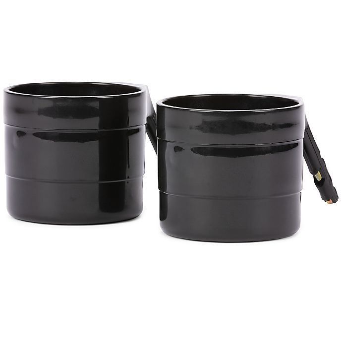Alternate image 1 for Diono® 2-Pack Cup Holders in Black