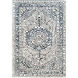 Rugs America Milford Charcoal Lancaster Area Rug in Grey