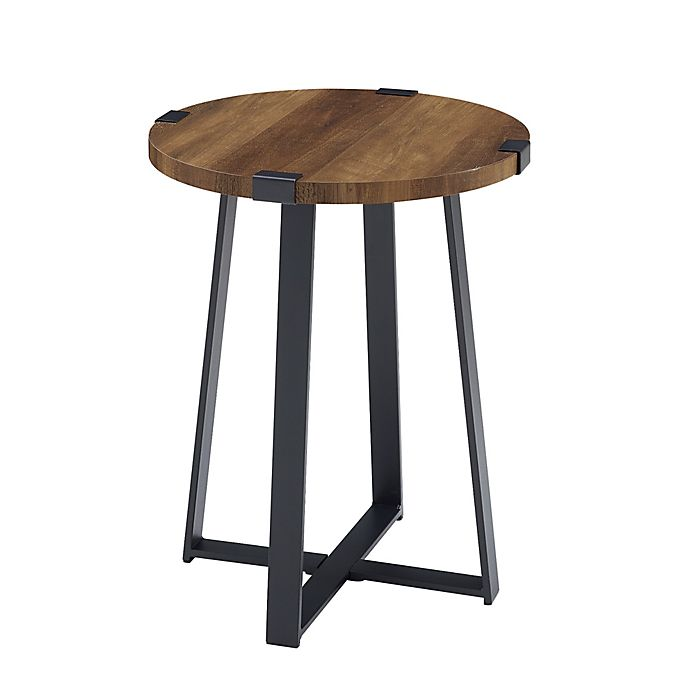 Alternate image 1 for Forest Gate™ Sage Industrial Modern Round Side Table