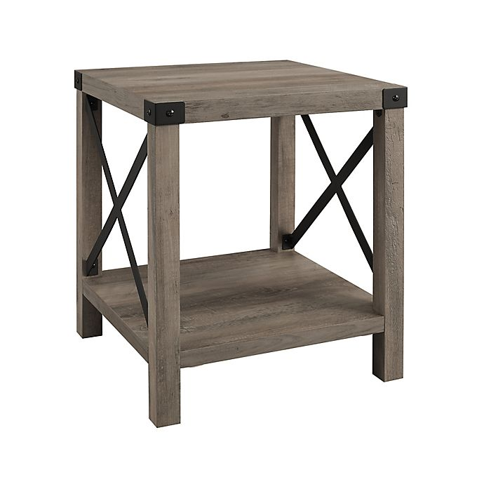 Alternate image 1 for Forest Gate™ Englewood 18-Inch Square Side Table