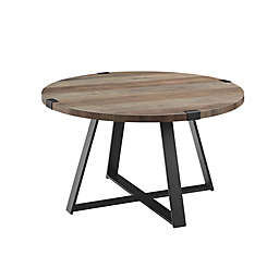 Forest Gate™ Sage Industrial Modern Round Coffee Table