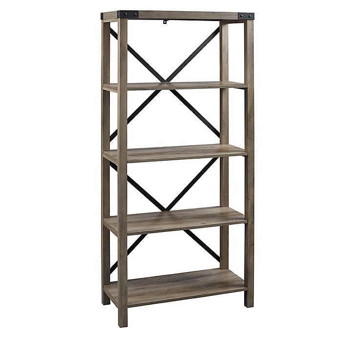 Alternate image 1 for Forest Gate™ Englewood Farmhouse 64-Inch Bookcase