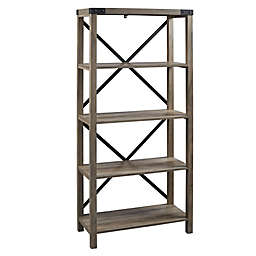 Forest Gate™ Englewood Farmhouse 64-Inch Bookcase