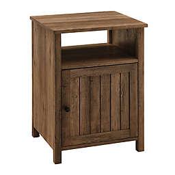 Forest Gate™ Sage Side Table in Rustic Oak