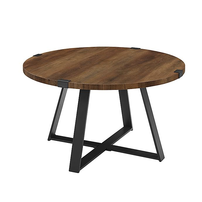 Alternate image 1 for Forest Gate™ Sage Industrial Modern Round Coffee Table