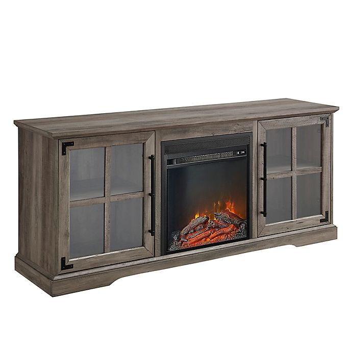 Alternate image 1 for Forest Gate 60-Inch Electric Fireplace TV Stand