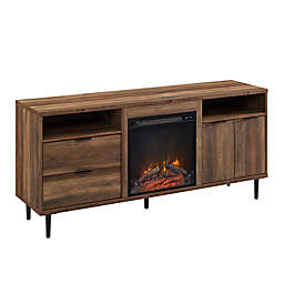 Forest Gate™ Modern 60-Inch Fireplace TV Stand in Barnwood