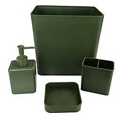 Simply Essential™ 4-Piece Bath Accessory Bundle Set in Moss