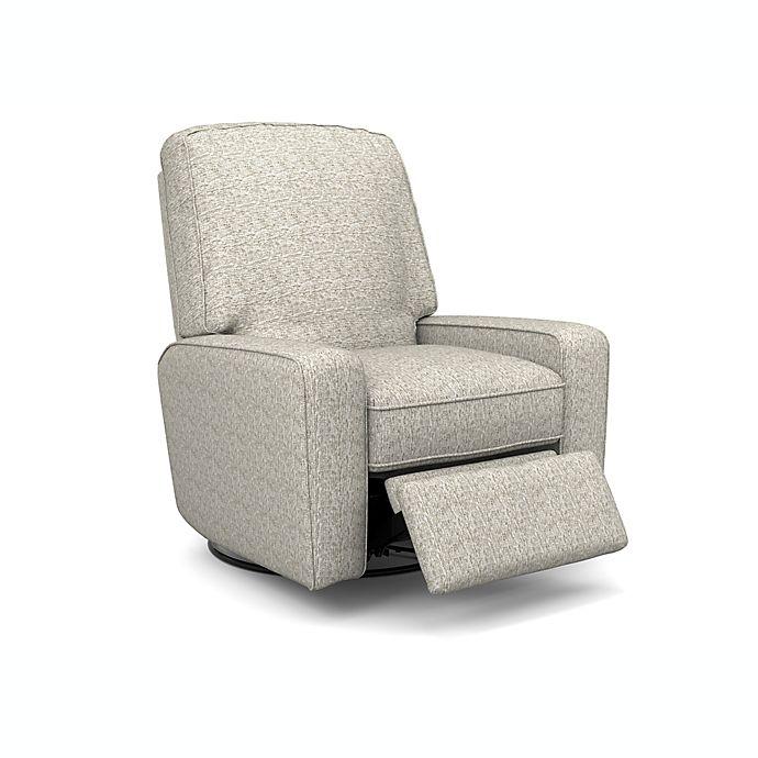 Alternate image 1 for Best Chairs® Bilana Swivel Recliner
